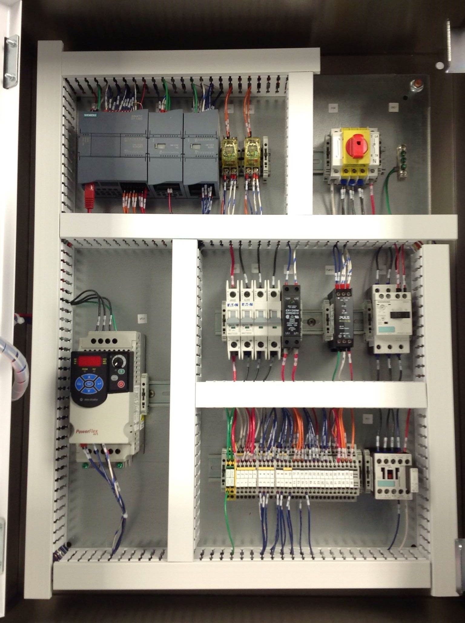 Electrical Control Panel control panel quality test quality assurance test robinson control panel wiring at fashall.co