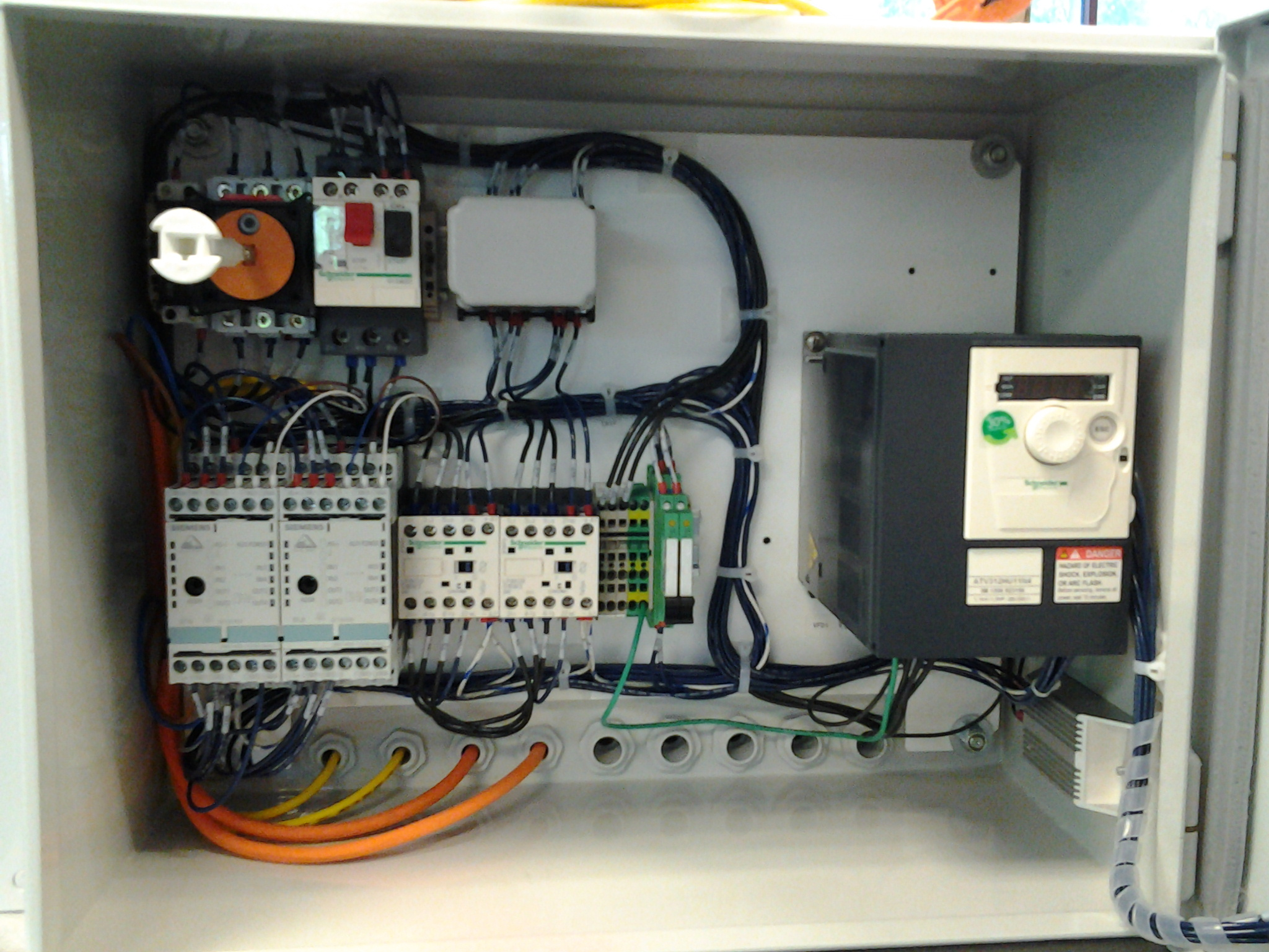 control box wiring electrical control panel wiring | electrical panel ... ejector pump control box wiring diagram #8